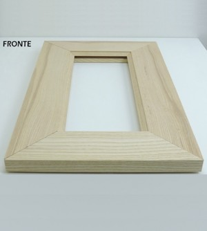 Anta antina in legno massello abete,su misura cm.40x36, x il fai da te