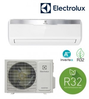Condizionatore climatizzatore Electrolux Inverter 9000 OptiBreeze X3 Green R32