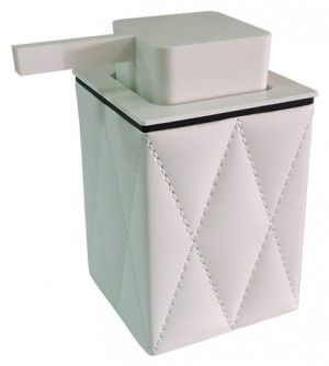 Dispenser dosasapone dosatore erogatore sapone liquido, accessori bagno