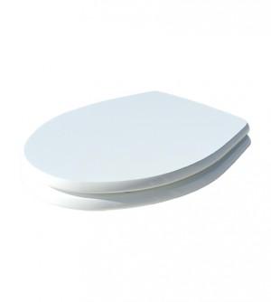 Coprivaso copriwater nuovo con difetti, compatibile Colibri 2, bianco