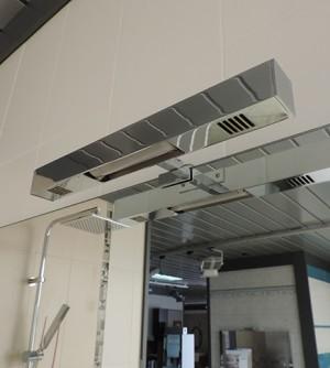 Applique lampada bagno con illuminazione a led,con istallazione a bordo specchio