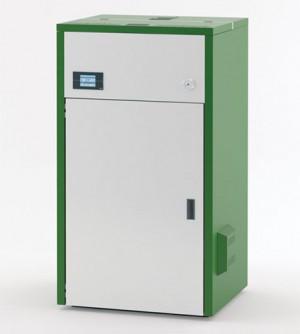 Boiler Caldaia a pellet KARMEK ONE MARINA 24 da 24,29 kW, in acciaio, verde