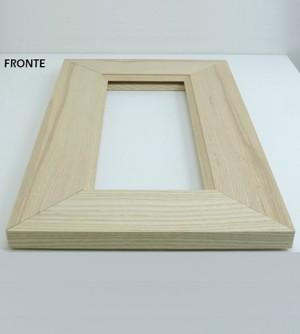 Anta antina in legno massello abete,su misura cm.45x36, x il fai da te