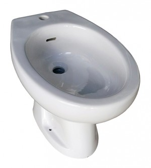 Sanitari bagno Bidet Pozzi Ginori modello Selnova, 3 fori, colore bianco