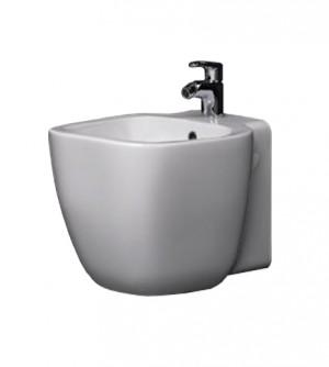 Sanitari bagno bidet sospeso, One Rak, ceramica bianca