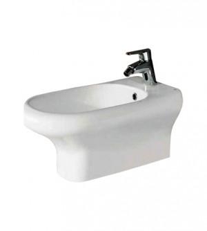 Sanitari bagno bidet sospeso, Compact Rak, ceramica bianca