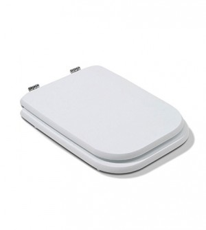 Coprivaso in poliestere alta qualità, compatibile Conca Ideal Standard, Bianco