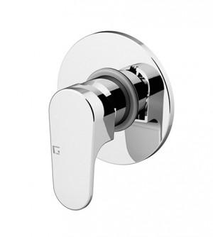 Miscelatore rubinetto incasso per doccia, Gattoni Homix 1000, colore cromo