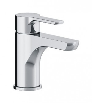 Miscelatore lavabo scarico automatico e flex inox di alimentazione H2OMIX 5000