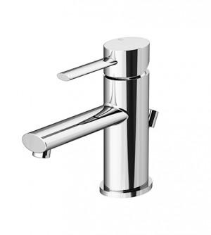 Miscelatore rubinetto per lavabo con piletta di scarico, Logos Gattoni