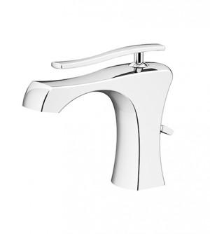 Miscelatore monocomando rubinetto lavabo con piletta di scarico, Gattoni Icarus