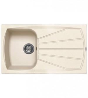 Lavello cucina Living incasso 86x50, 1 vasca, reversibile sia dx che sx, avena