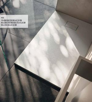Piatto doccia 70x120 1°scelta rettangolare in resina termoformata effetto pietra
