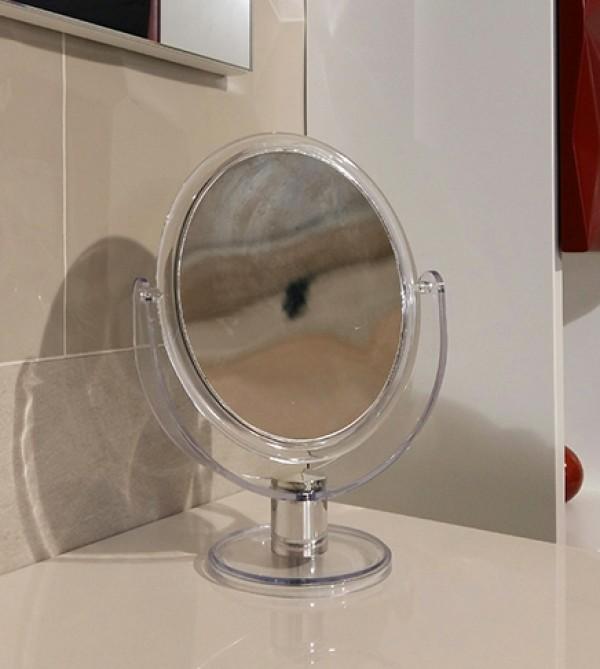 Specchio Ingranditore Da Bagno.Specchio Ingranditore E Non Per Bagno Da Appoggio Struttura Resina Trasparente