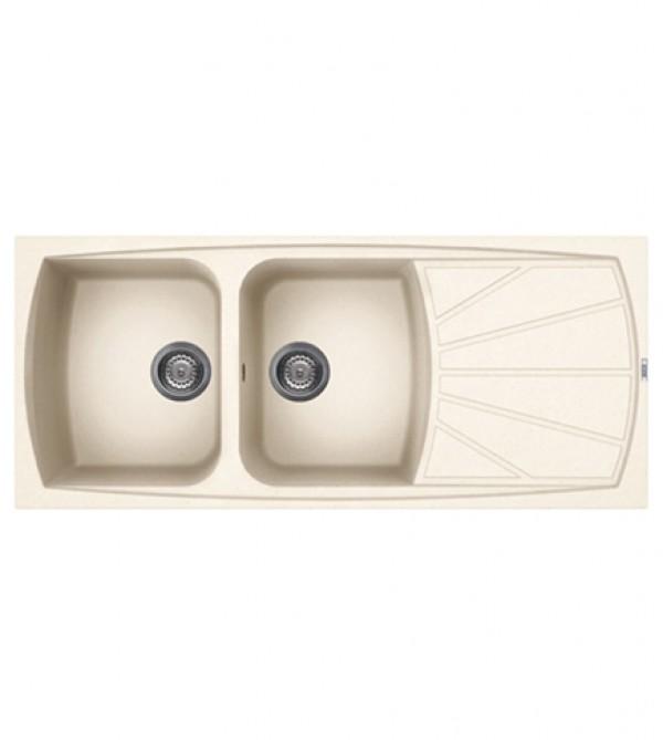 Lavello cucina living incasso 116x50 2 vasche reversibile sia dx che sx avena arredobagno e - Lavello cucina avena ...