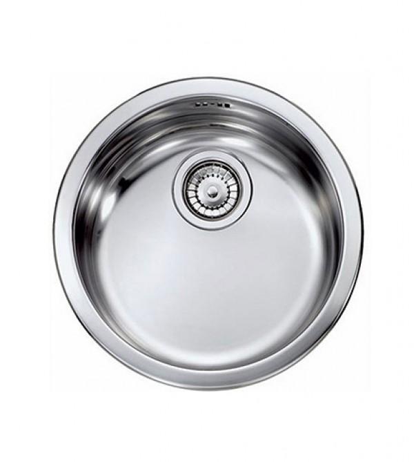 Lavello Cucina A Incasso.Lavello Cucina Incasso Acciaio Inox Diametro Cm 43 5 1 Vasca